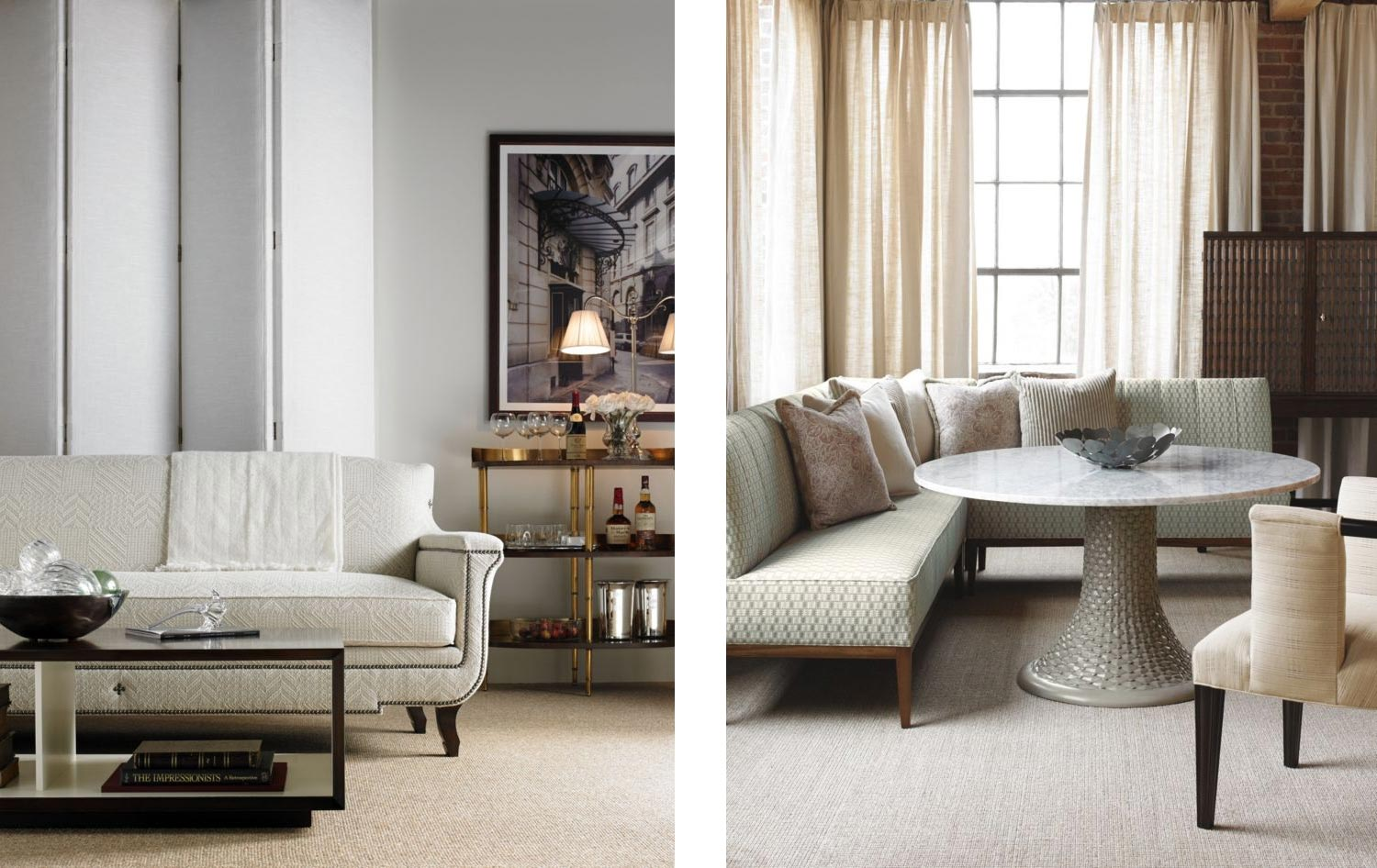 Furniture Collection for Hickory Chair @ Gomez Associates