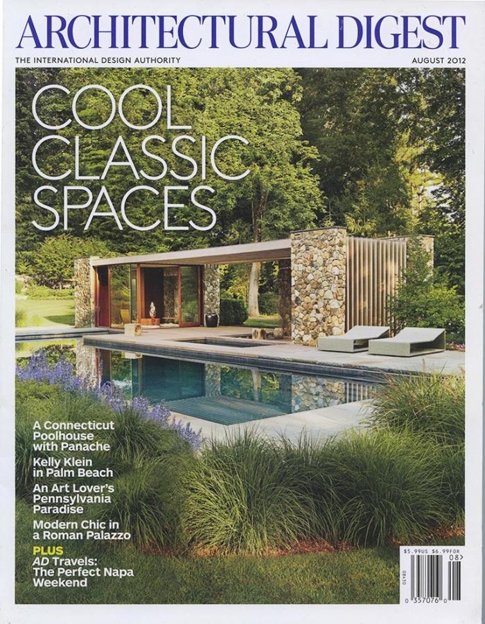Architectural Digest, August 2012