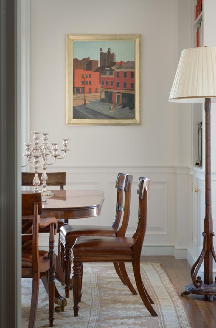 View to dinning room. © Gomez Associates