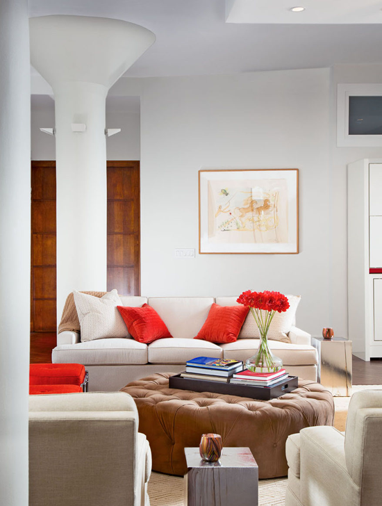 Living space. © Gomez Associates