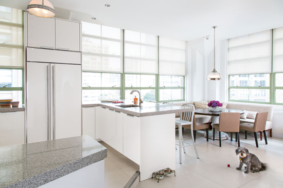 Kitchen and dining. © Gomez Associates