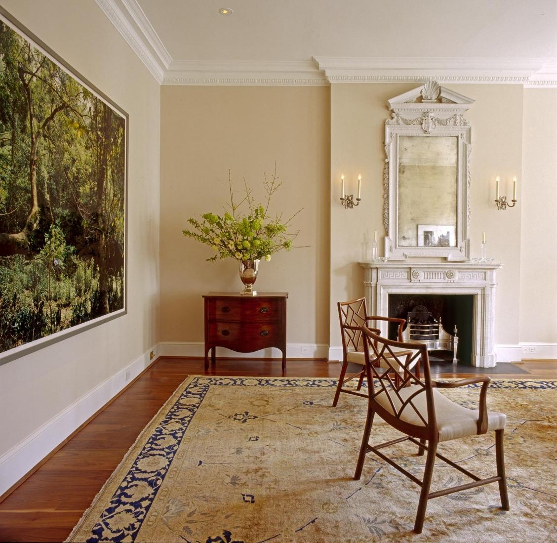 Drawing room. © Gomez Associates