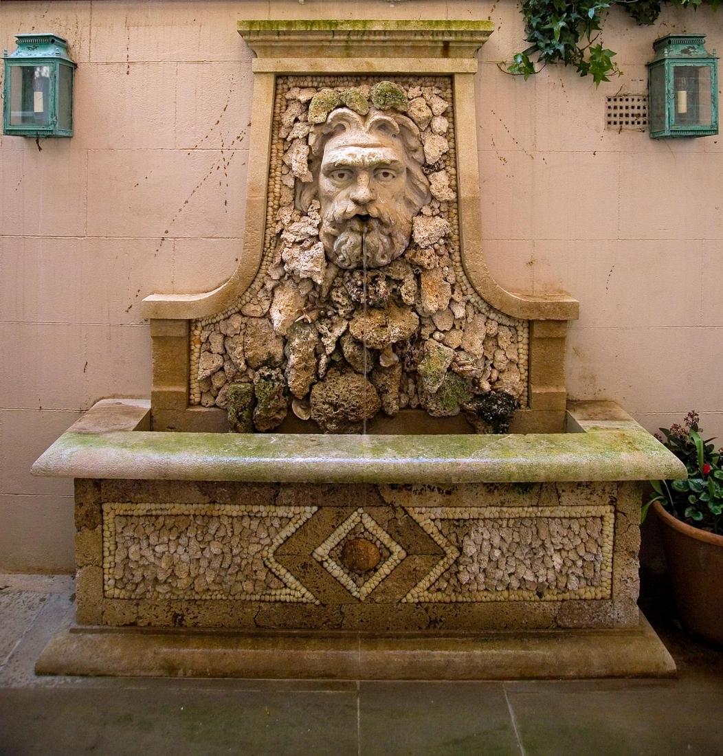 Garden fountain. © Gomez Associates