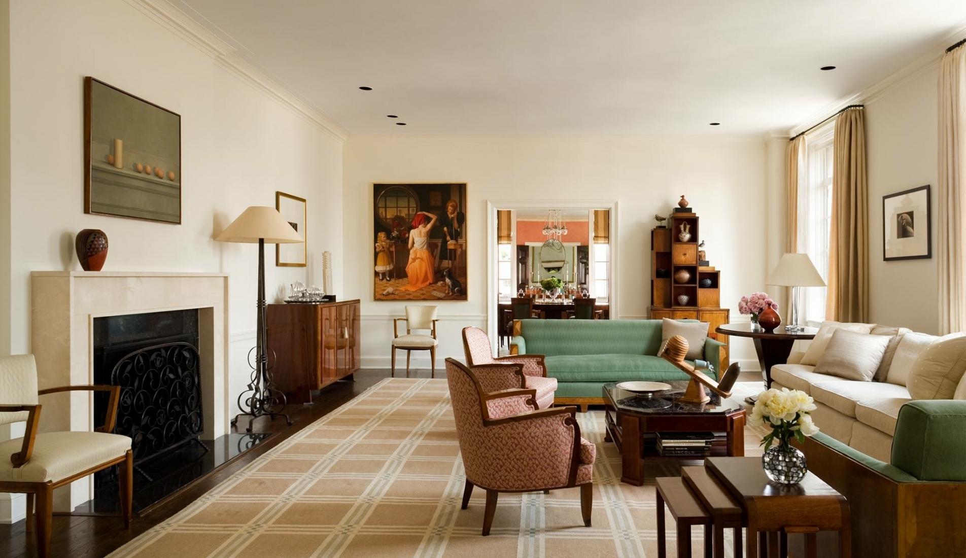 Living room. © Gomez Associates