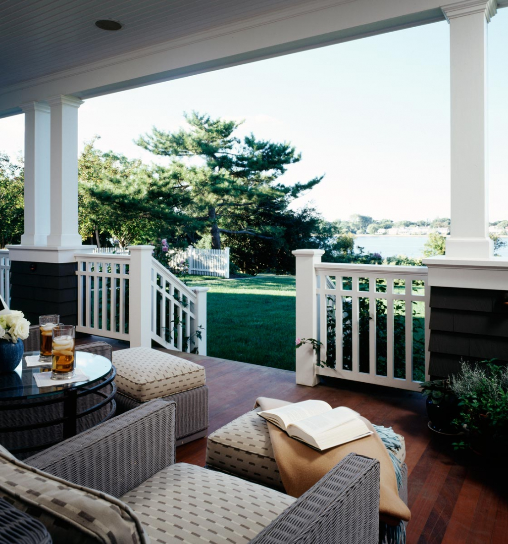 Porch. © Gomez Associates